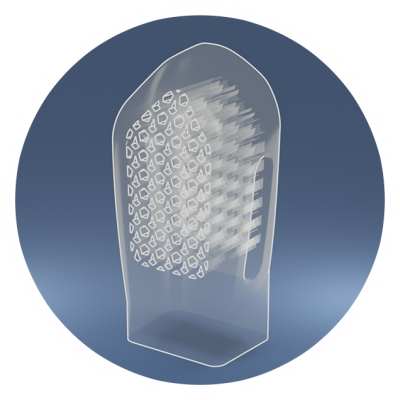 Medical device prototyping image for additive manufacturing