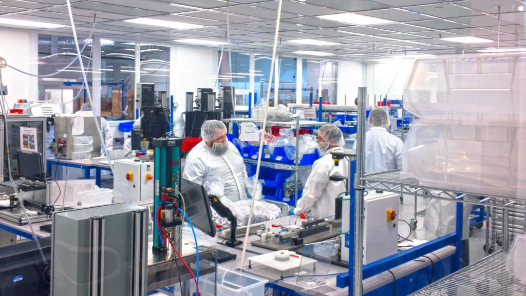 MW Life Sciences Mansfield manufacturing location
