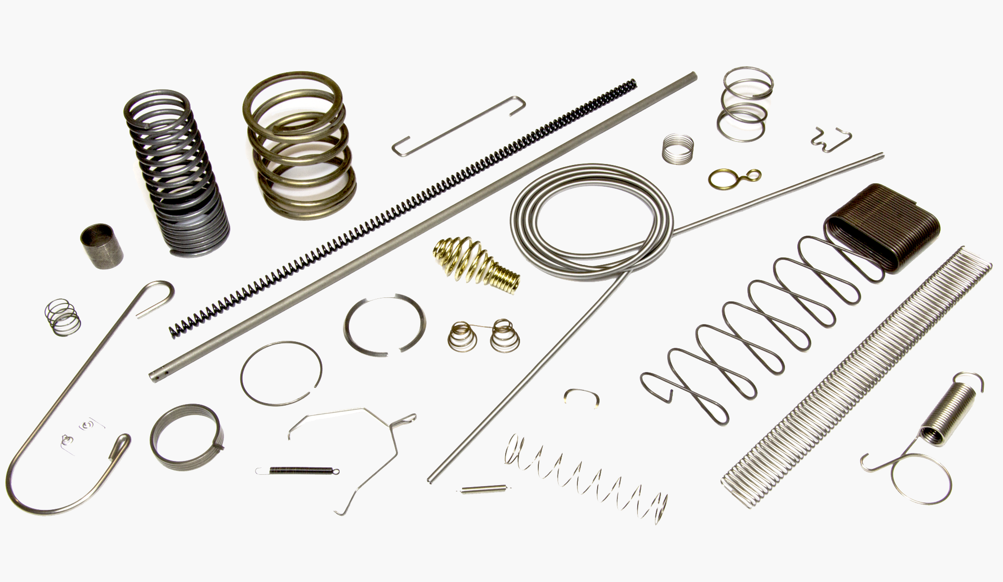 Custom springs for medical devices
