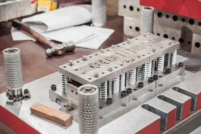 Production tooling for custom components